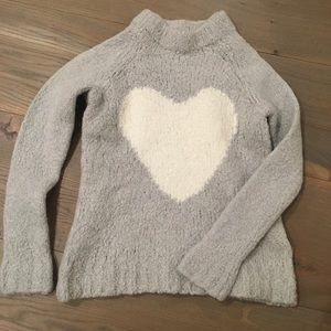 Crewcuts heart sweater
